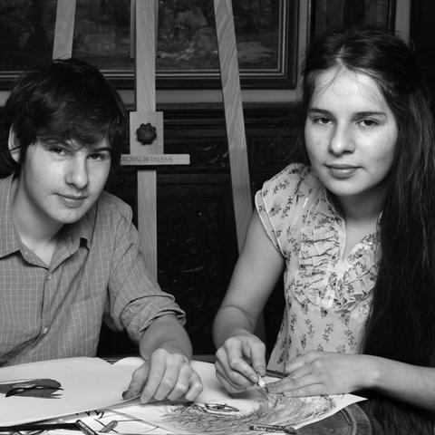 Delfin Zefiryn i Amadea Neomi Łakatosz